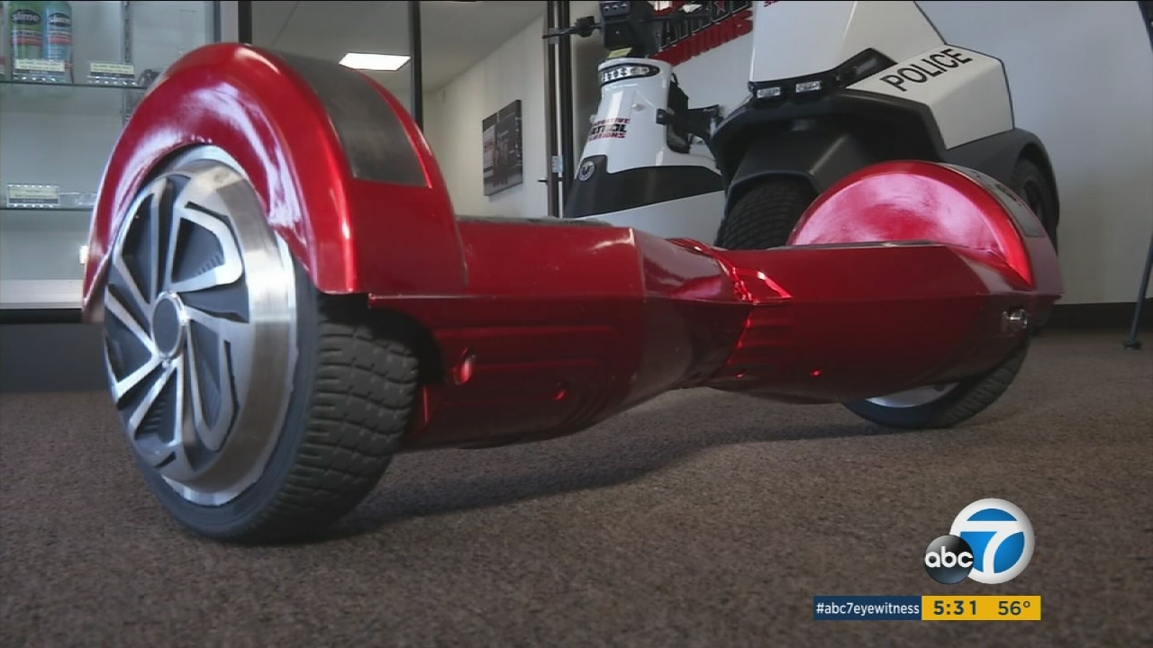 New CA law requires age limit, other rules for hoverboard ...