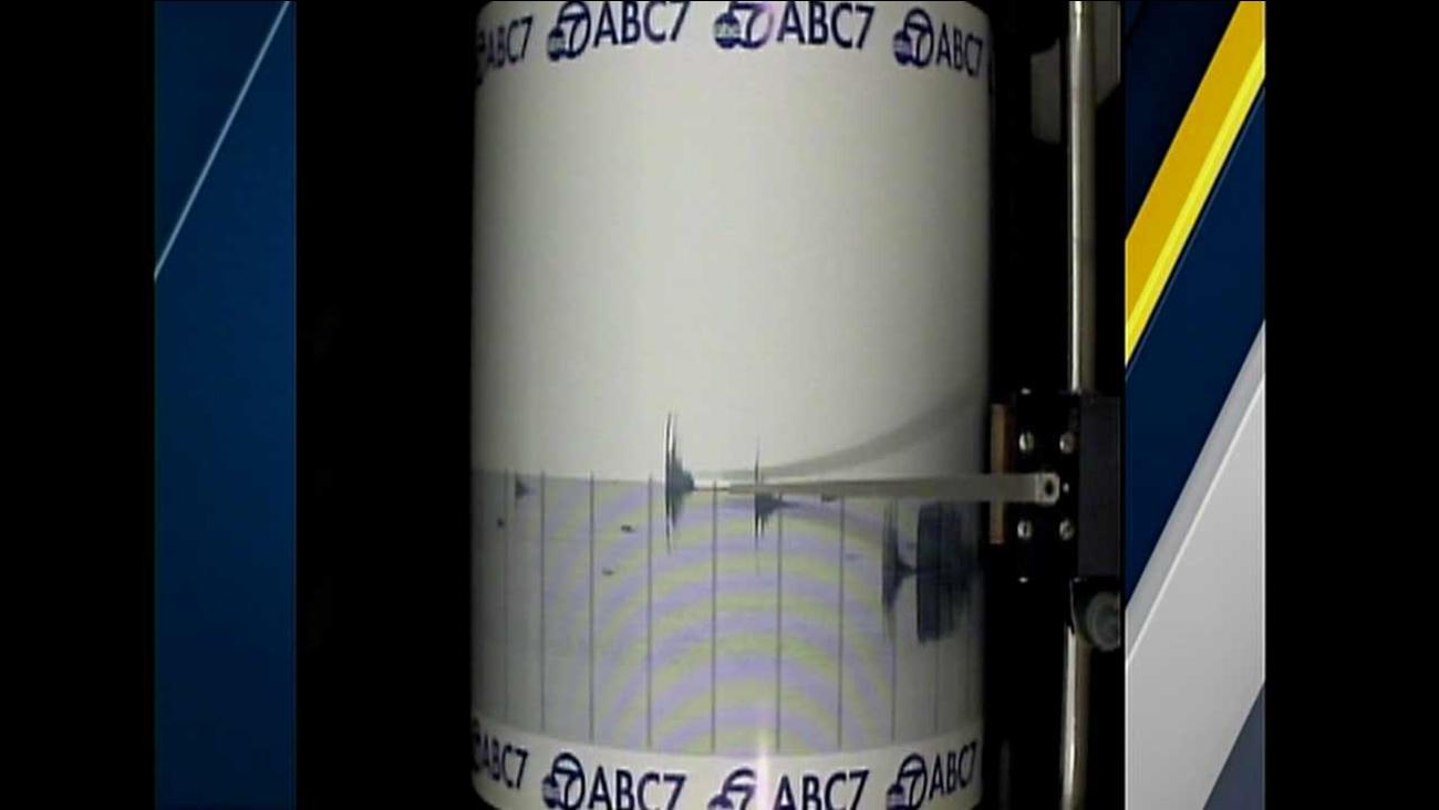 The ABC7 Quake Cam captured the small temblor that struck Devore in San Bernardino County on Wednesday, Dec. 30, 2015.