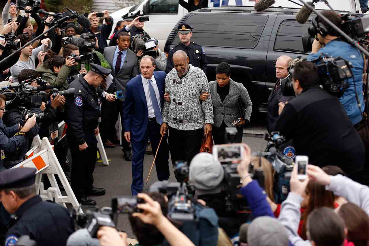 <div class='meta'><div class='origin-logo' data-origin='none'></div><span class='caption-text' data-credit='AP Photo/Matt Rourke'>Bill Cosby arrives at court to face a felony charge of aggravated indecent assault Wednesday, Dec. 30, 2015, in Elkins Park, Pa.</span></div>