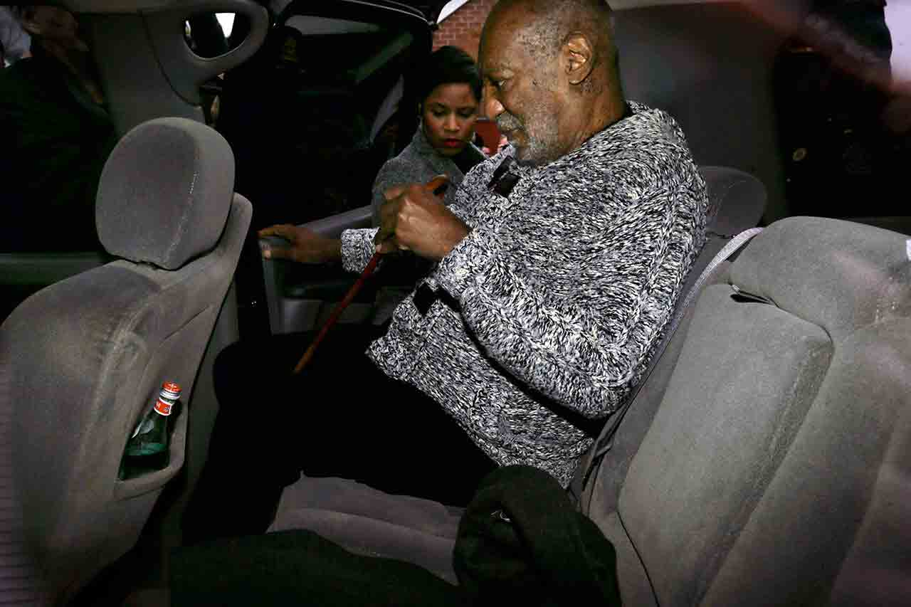 "<div class=""meta image-caption""><div class=""origin-logo origin-image none""><span>none</span></div><span class=""caption-text"">Actor and comedian Bill Cosby is helped into an SUV as he leaves a court appearance where he faced a felony charge of aggravated indecent assault Wednesday, Dec. 30, 2015. (AP Photo/Mel Evans)</span></div>"