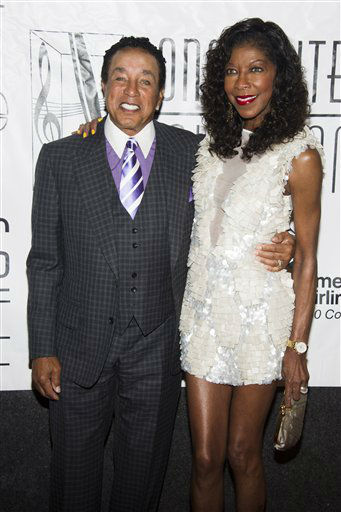 <div class='meta'><div class='origin-logo' data-origin='none'></div><span class='caption-text' data-credit=''>Smokey Robinson and Natalie Cole attend the Songwriters Hall of Fame 44th annual induction and awards gala on Thursday, June 13, 2013 in New York. (AP Photo/Charles Sykes)</span></div>