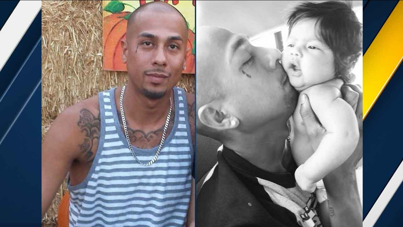 Ernesto Calzadilla, 27, pictured in undated photos (left and right) provided by family members.