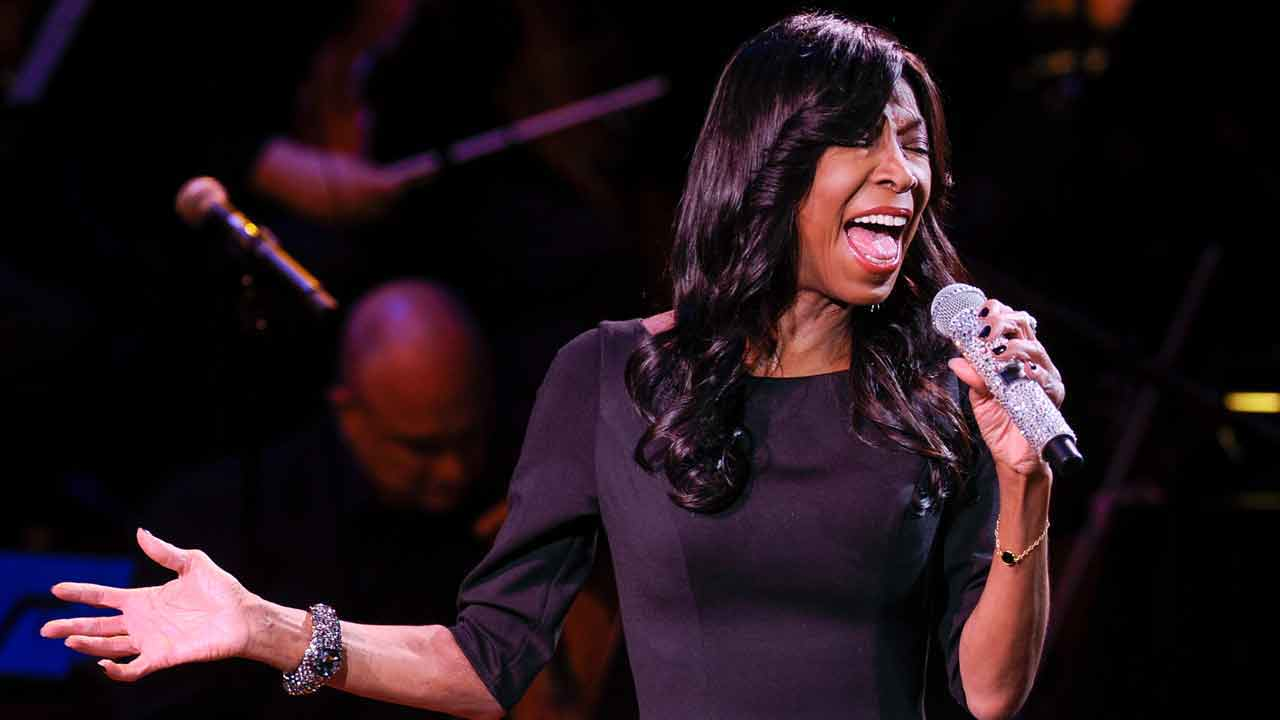 "Natalie Cole performs at ""An Evening of SeriousFun Celebrating the Legacy of Paul Newman,"" hosted by the SeriousFun Children's Network at Avery Fisher Hall, Monday, March 2, 2015."