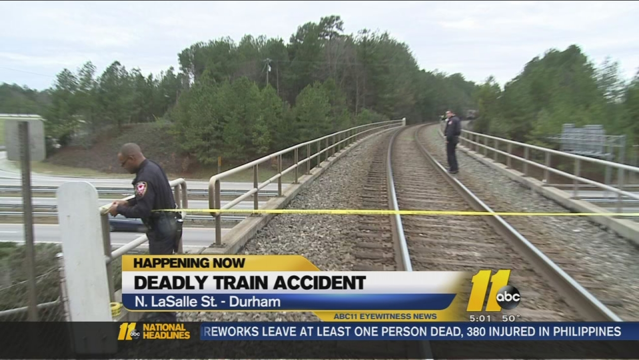 Deadly train accident