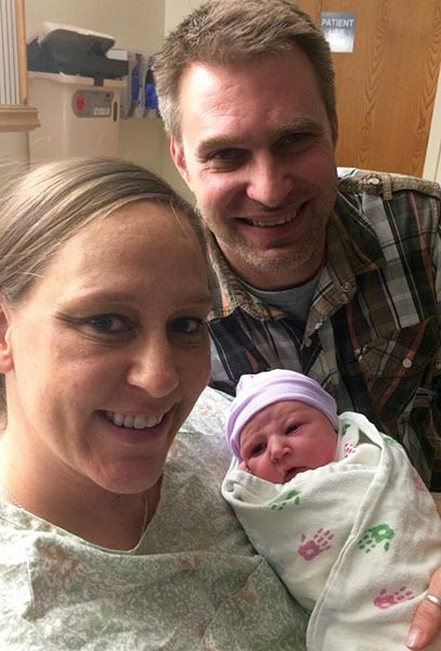 <div class='meta'><div class='origin-logo' data-origin='WLS'></div><span class='caption-text' data-credit='Courtesy Advocate Good Samaritan Hospital'>Emily Louise Nowakowski, born at Advocate Good Samaritan Hospital in Downers Grove, Ill.</span></div>