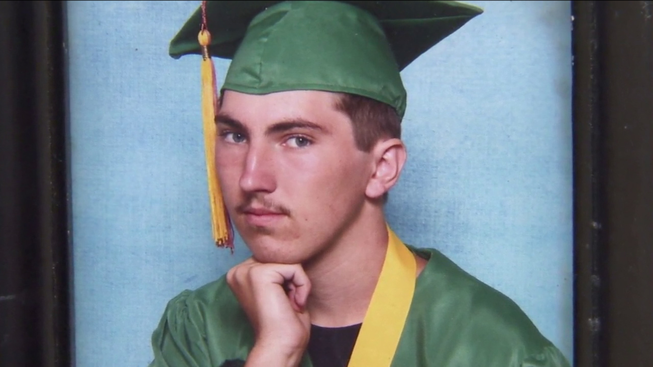 Thor Anderson, 21, was killed by a driver suspected to have been under the influence on Jan. 1, 2016.