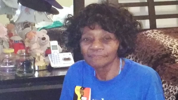 Gladys Gamter, 78, was last seen at 11:30 p.m. on Saturday, January 2, 2016 in the vicinity of Appian Way and Rancho Road in the El Sobrante, Calif. area.