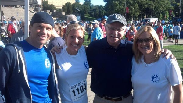from Spencer gay papa prostate cancer walk