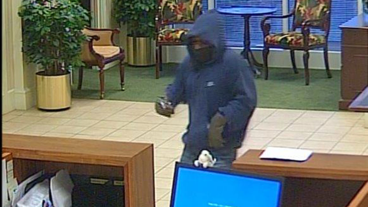The Apex Police Department is investigating a bank robbery that happened on Dec. 31.