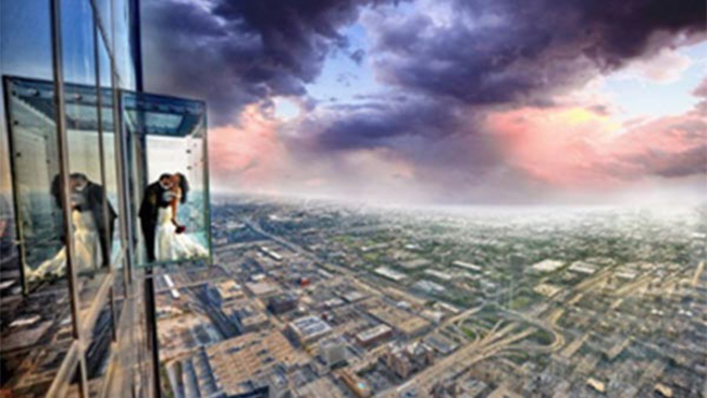 Willis Tower Skydeck Accepting Videos For Valentines Day Wedding Contest Abc7chicago Com
