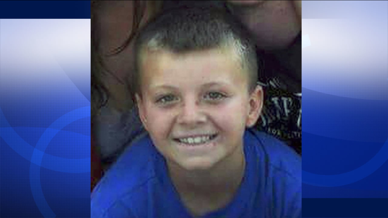 Tyler Griffin-Huston, 9, was killed by his sister's two dogs in Yuba County, Calif.