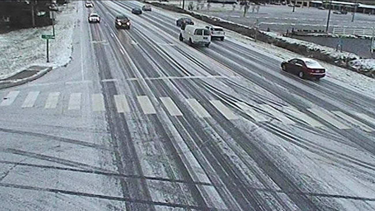 US-158 and 3rd Street at 8:15 a.m. Tuesday.