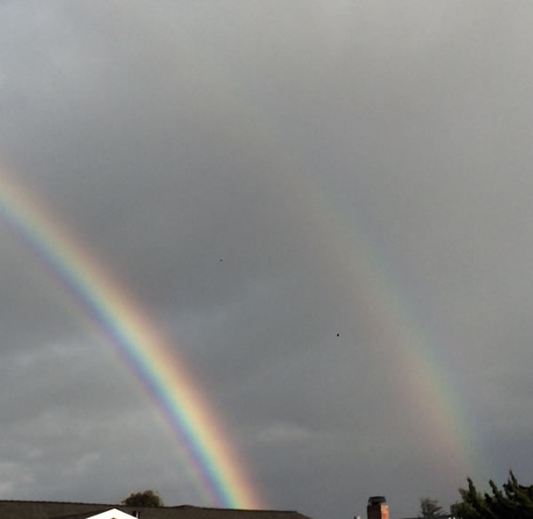 "<div class=""meta image-caption""><div class=""origin-logo origin-image none""><span>none</span></div><span class=""caption-text"">This photo shows a double rainbow Tuesday, January 5, 2016. (Photo submitted to KGO-TV by Lisa Souza/Facebook)</span></div>"