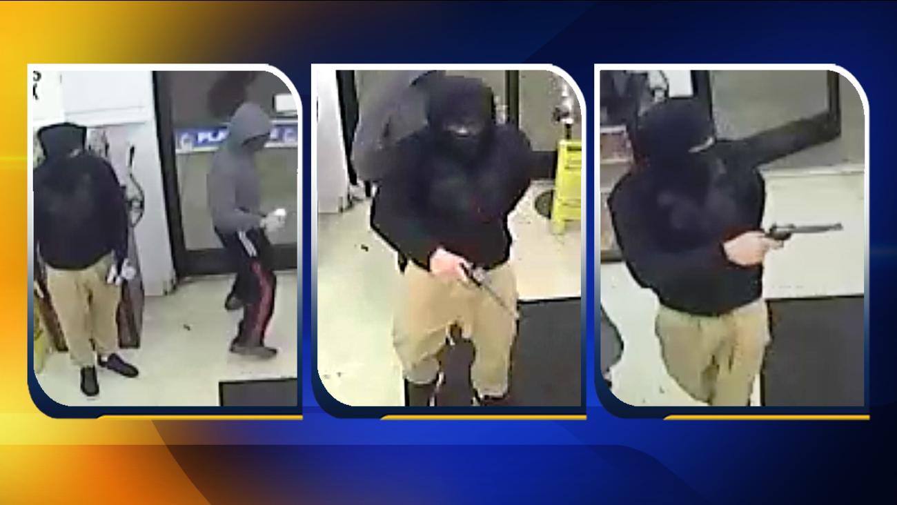 The two men who robbed Morehead Mini Mart.