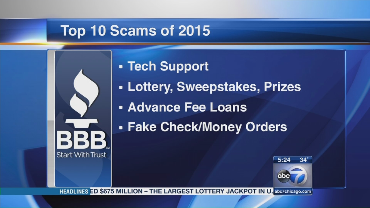Sweepstakes scams bbb logo