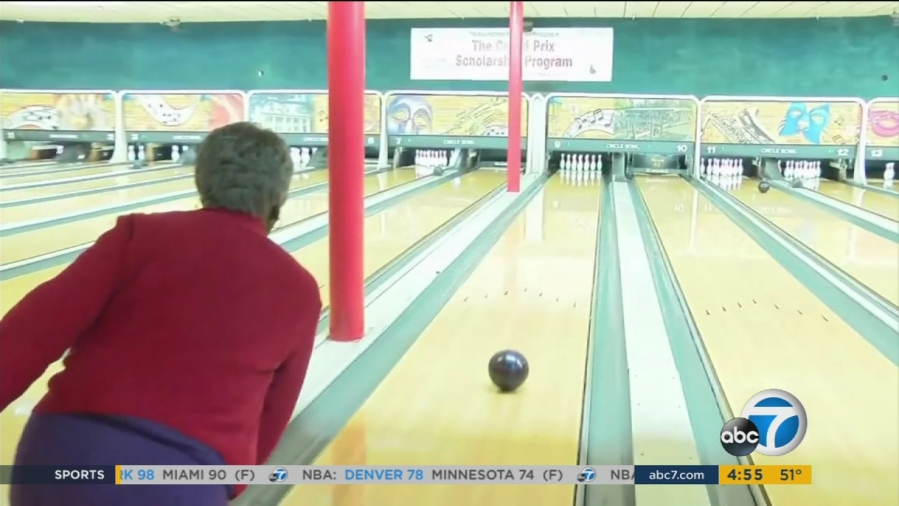 99 Year Old Woman Leads Bowling Team