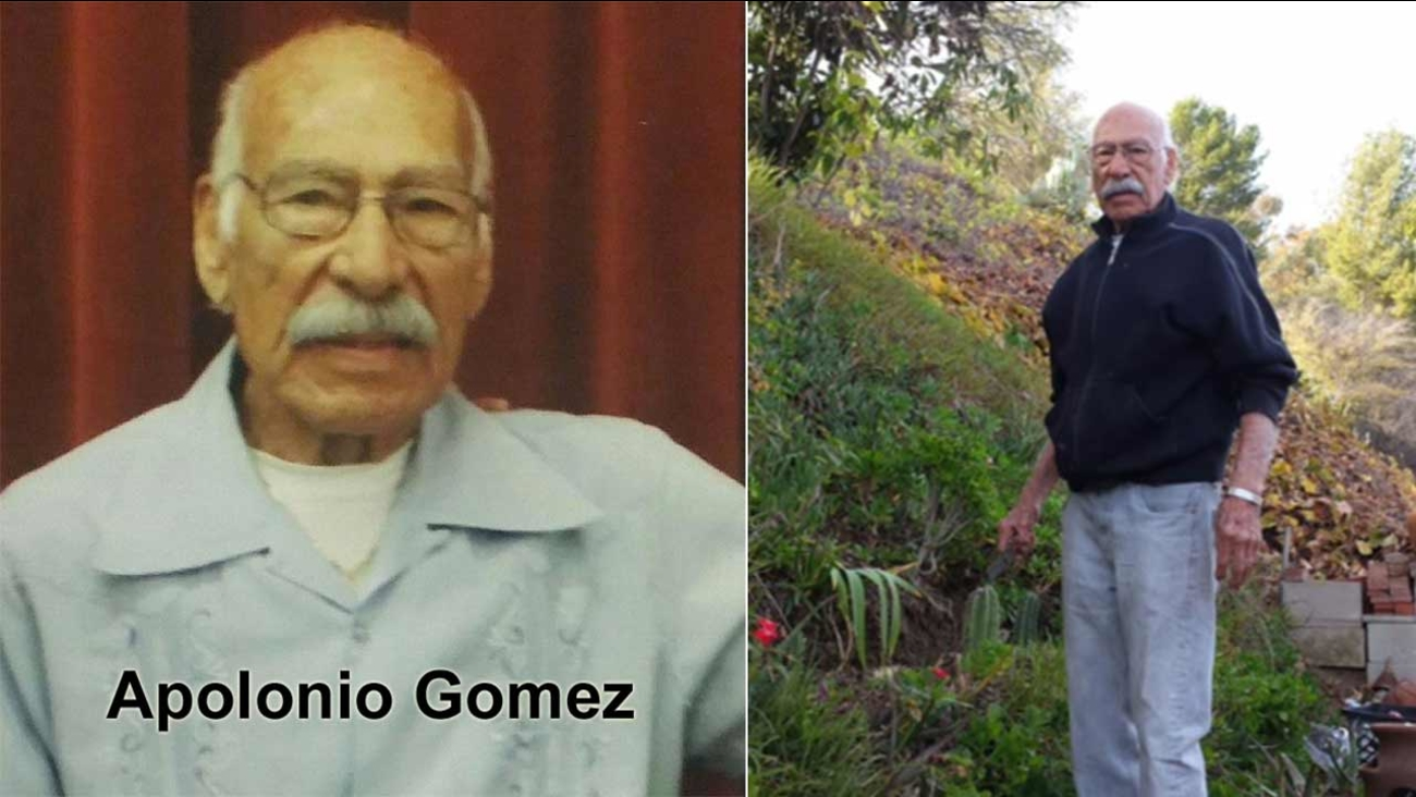Apolonio Gomez, 91, was last seen in the 5500 block of Marmion Way in Highland Park on Wednesday, Jan. 6, 2016.