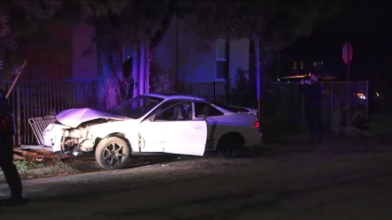 Four under arrest after CHP chase from Berkeley to Oakland, Friday, January 8, 2016