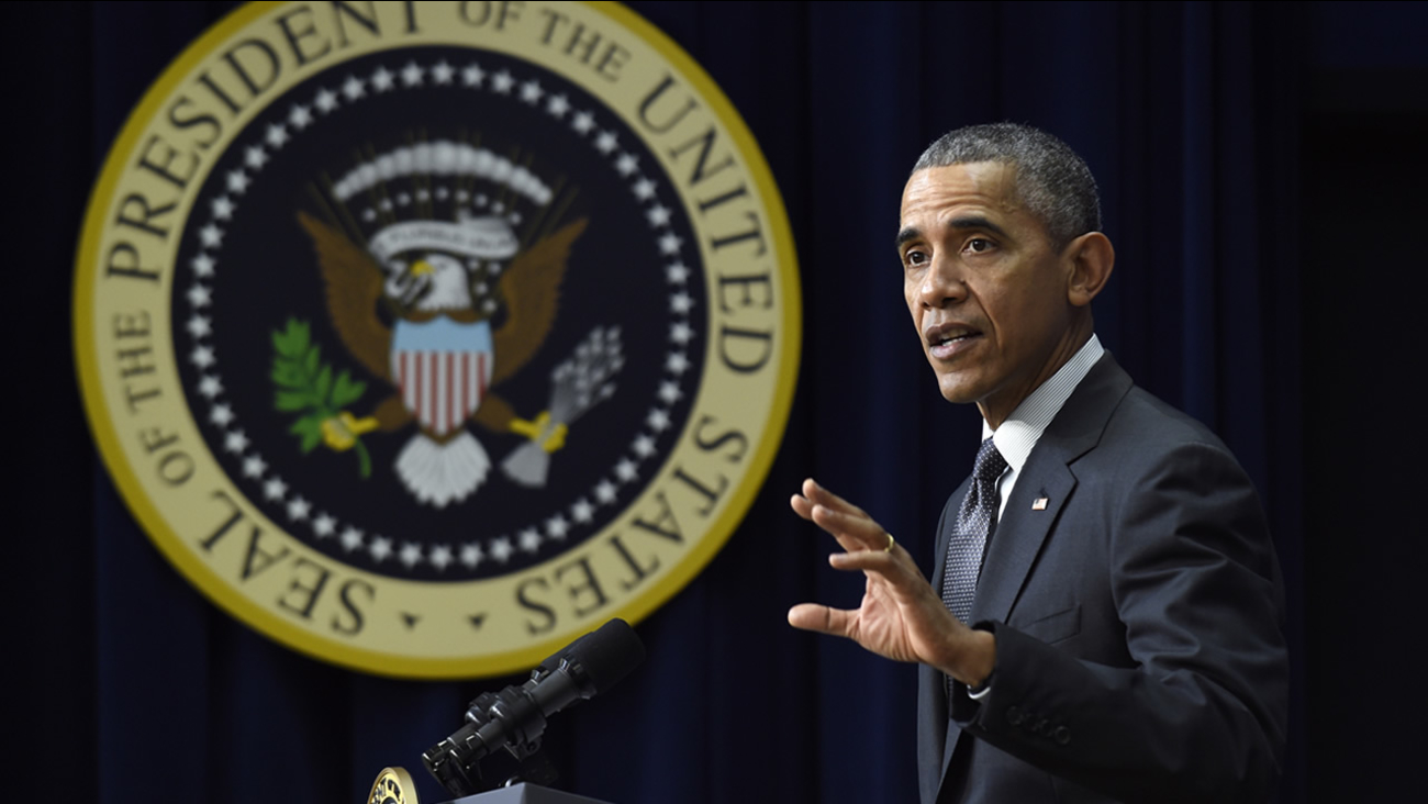 This undated image shows President Barack Obama in Washington D.C.