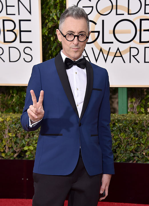 "<div class=""meta image-caption""><div class=""origin-logo origin-image none""><span>none</span></div><span class=""caption-text"">Alan Cumming arrives at the 73rd annual Golden Globe Awards on Sunday, Jan. 10, 2016, at the Beverly Hilton Hotel in Beverly Hills, Calif. (Jordan Strauss/Invision/AP)</span></div>"