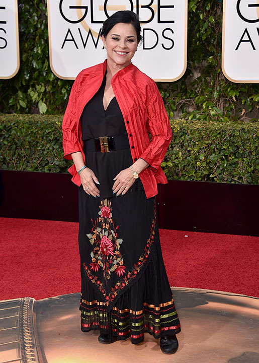 "<div class=""meta image-caption""><div class=""origin-logo origin-image none""><span>none</span></div><span class=""caption-text"">Diana Gabaldon, author of the ''Outlander'' book series, arrives at the 73rd annual Golden Globe Awards on Jan. 10, 2016, at the Beverly Hilton Hotel in Beverly Hills, Calif. (Jordan Strauss/Invision/AP)</span></div>"