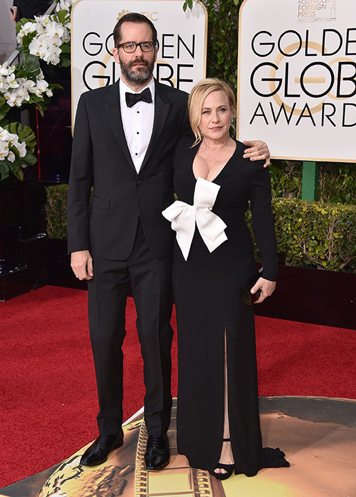 "<div class=""meta image-caption""><div class=""origin-logo origin-image none""><span>none</span></div><span class=""caption-text"">Patricia Arquette, right, and Eric White arrive at the 73rd annual Golden Globe Awards on Sunday, Jan. 10, 2016, at the Beverly Hilton Hotel in Beverly Hills, Calif. (Jordan Strauss/Invision/AP)</span></div>"