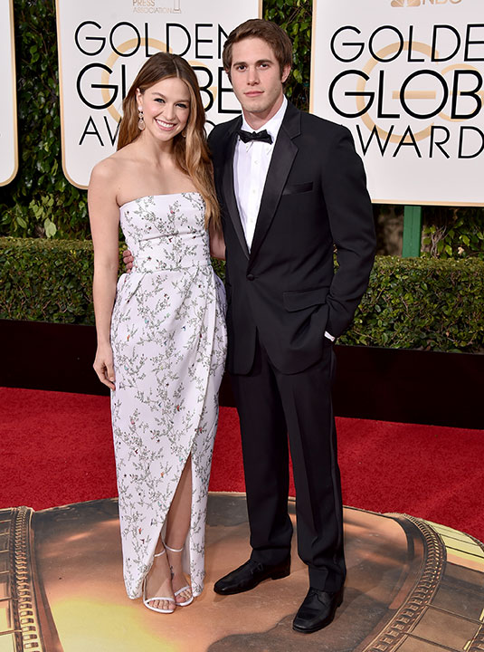 "<div class=""meta image-caption""><div class=""origin-logo origin-image none""><span>none</span></div><span class=""caption-text"">Melissa Benoist, left, and Blake Jenner arrive at the 73rd annual Golden Globe Awards on Sunday, Jan. 10, 2016, at the Beverly Hilton Hotel in Beverly Hills, Calif. (Jordan Strauss/Invision/AP)</span></div>"