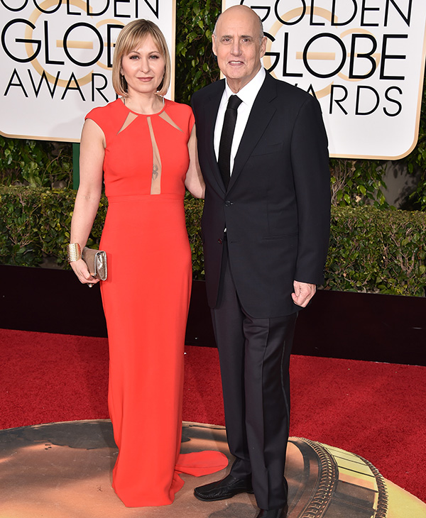 "<div class=""meta image-caption""><div class=""origin-logo origin-image none""><span>none</span></div><span class=""caption-text"">Jeffrey Tambor, right, and Kasia Ostlun arrive at the 73rd annual Golden Globe Awards on Sunday, Jan. 10, 2016, at the Beverly Hilton Hotel in Beverly Hills, Calif. (Jordan Strauss/Invision/AP)</span></div>"