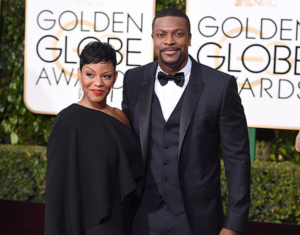 "<div class=""meta image-caption""><div class=""origin-logo origin-image none""><span>none</span></div><span class=""caption-text"">Chris Tucker, right, and Cynne Simpson arrive at the 73rd annual Golden Globe Awards on Sunday, Jan. 10, 2016, at the Beverly Hilton Hotel in Beverly Hills, Calif. (Jordan Strauss/Invision/AP)</span></div>"