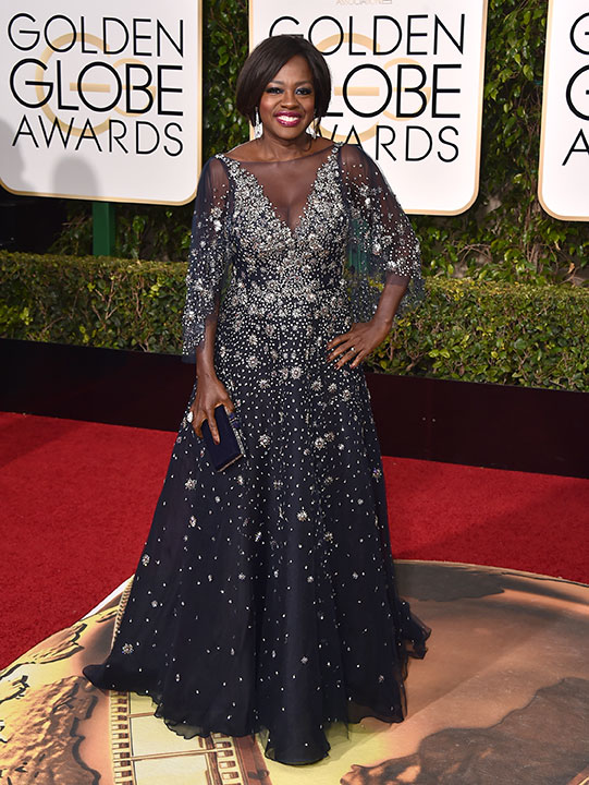 "<div class=""meta image-caption""><div class=""origin-logo origin-image none""><span>none</span></div><span class=""caption-text"">Viola Davis arrives at the 73rd annual Golden Globe Awards on Sunday, Jan. 10, 2016, at the Beverly Hilton Hotel in Beverly Hills, Calif. (Jordan Strauss/Invision/AP)</span></div>"
