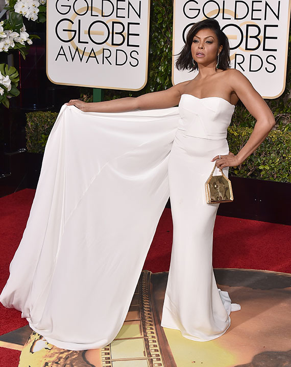 "<div class=""meta image-caption""><div class=""origin-logo origin-image none""><span>none</span></div><span class=""caption-text"">Taraji P. Henson arrives at the 73rd annual Golden Globe Awards on Sunday, Jan. 10, 2016, at the Beverly Hilton Hotel in Beverly Hills, Calif. (Jordan Strauss/Invision/AP)</span></div>"