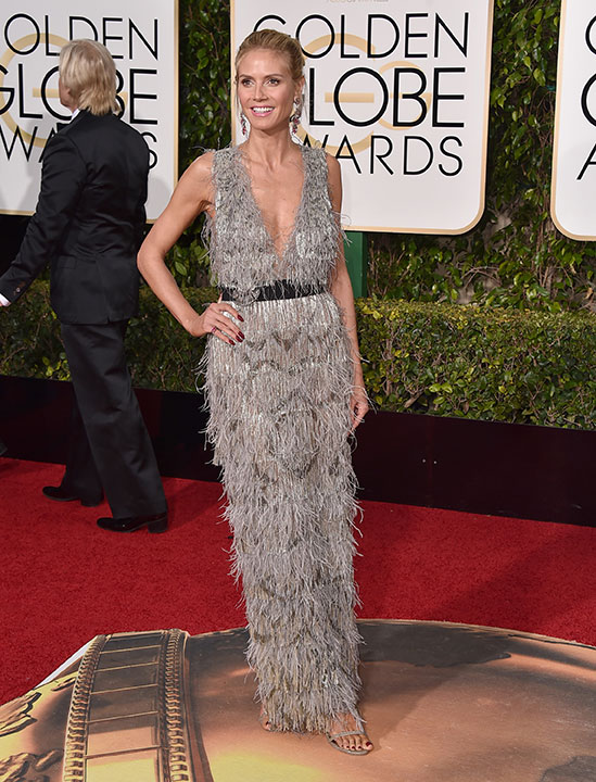"<div class=""meta image-caption""><div class=""origin-logo origin-image none""><span>none</span></div><span class=""caption-text"">Heidi Klum arrives at the 73rd annual Golden Globe Awards on Sunday, Jan. 10, 2016, at the Beverly Hilton Hotel in Beverly Hills, Calif. (Jordan Strauss/Invision/AP)</span></div>"