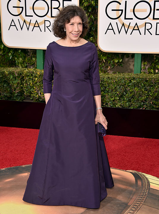 "<div class=""meta image-caption""><div class=""origin-logo origin-image none""><span>none</span></div><span class=""caption-text"">Lily Tomlin arrives at the 73rd annual Golden Globe Awards on Sunday, Jan. 10, 2016, at the Beverly Hilton Hotel in Beverly Hills, Calif. (Jordan Strauss/Invision/AP)</span></div>"
