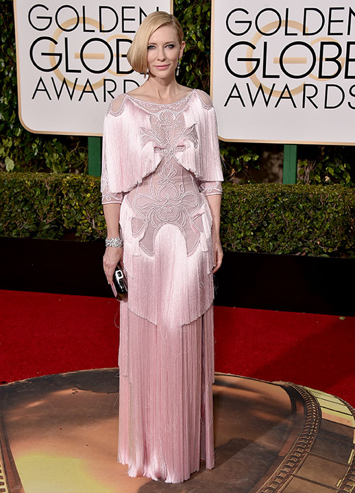 "<div class=""meta image-caption""><div class=""origin-logo origin-image none""><span>none</span></div><span class=""caption-text"">Cate Blanchett arrives at the 73rd annual Golden Globe Awards on Sunday, Jan. 10, 2016, at the Beverly Hilton Hotel in Beverly Hills, Calif. (Jordan Strauss/Invision/AP)</span></div>"