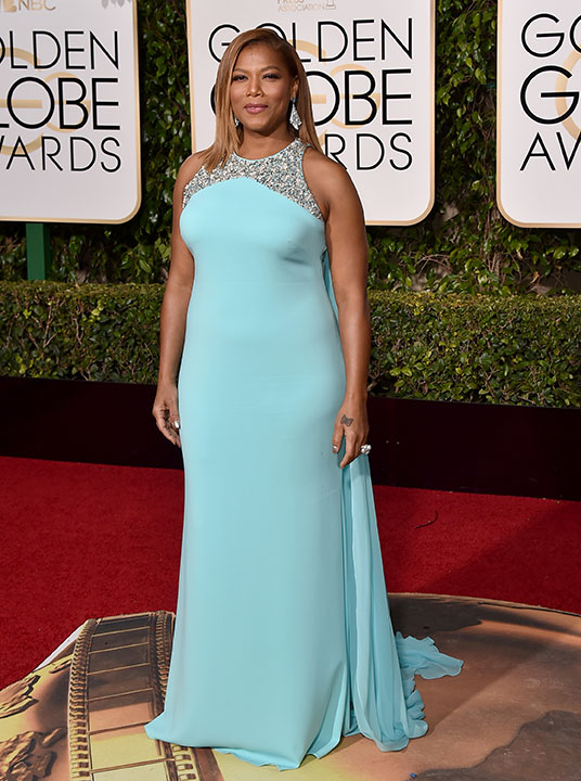 "<div class=""meta image-caption""><div class=""origin-logo origin-image none""><span>none</span></div><span class=""caption-text"">Queen Latifah arrives at the 73rd annual Golden Globe Awards on Sunday, Jan. 10, 2016, at the Beverly Hilton Hotel in Beverly Hills, Calif. (Jordan Strauss/Invision/AP)</span></div>"