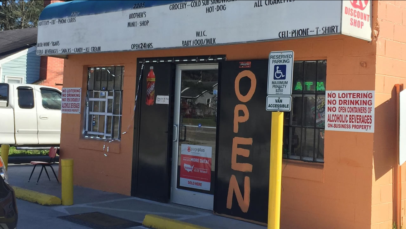 It happened at Brother's Minit Shop on Martin Luther King Boulevard