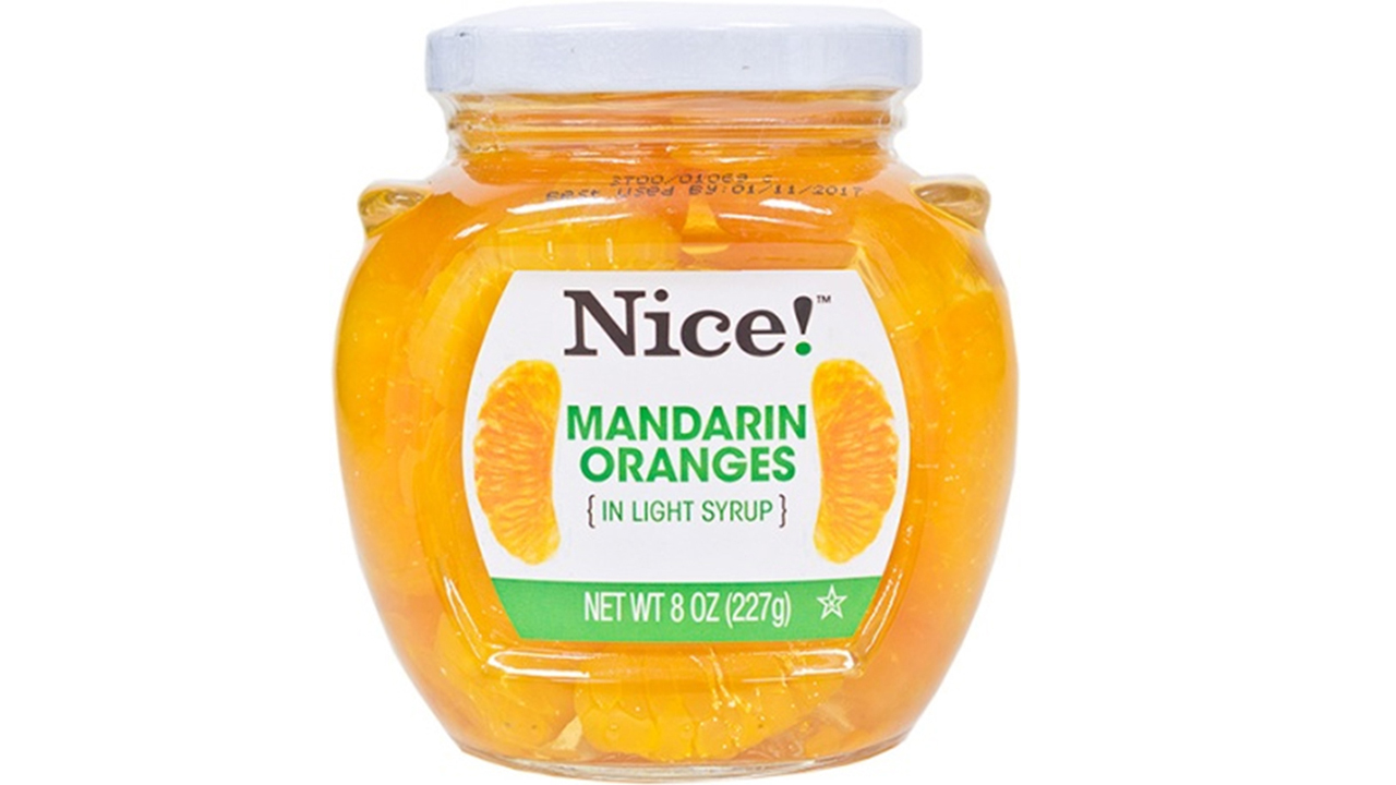 Nice! mandarin oranges in light syrup