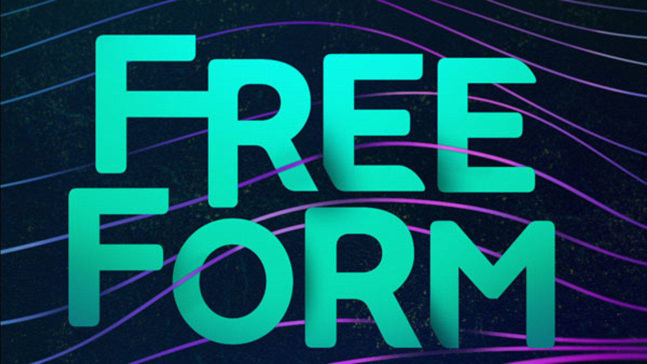 This is the new logo for Freeform, formerly the ABC Family Channel