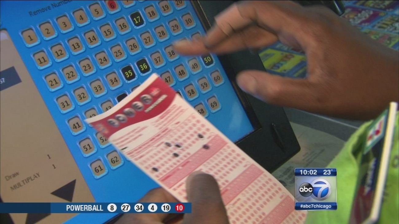 Powerball lottery jackpot drawing