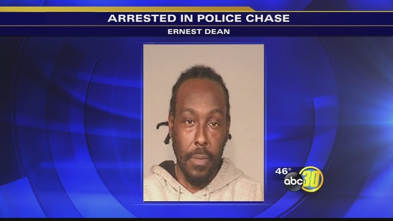 Man in custody after leading police on multi-state chase