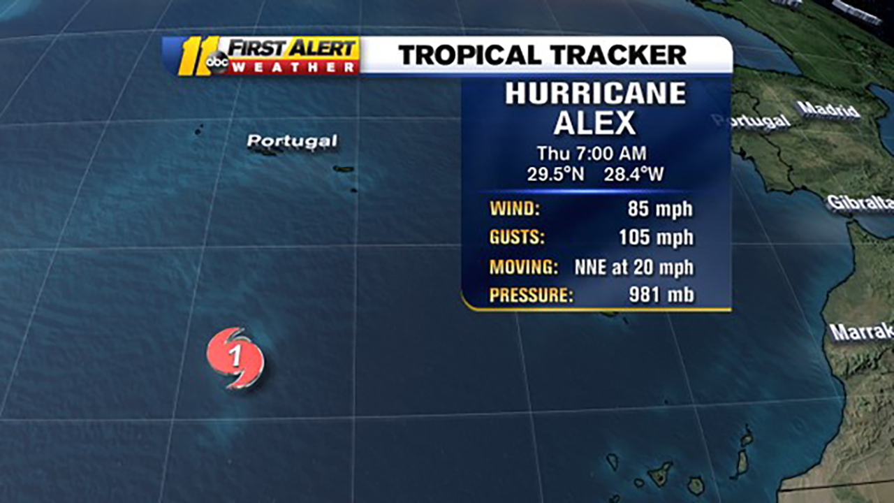 First Atlantic Hurricane of the year