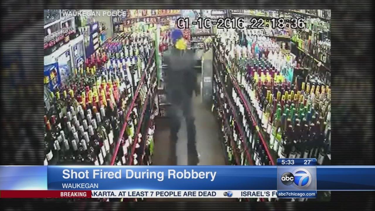 Waukegan robbery video
