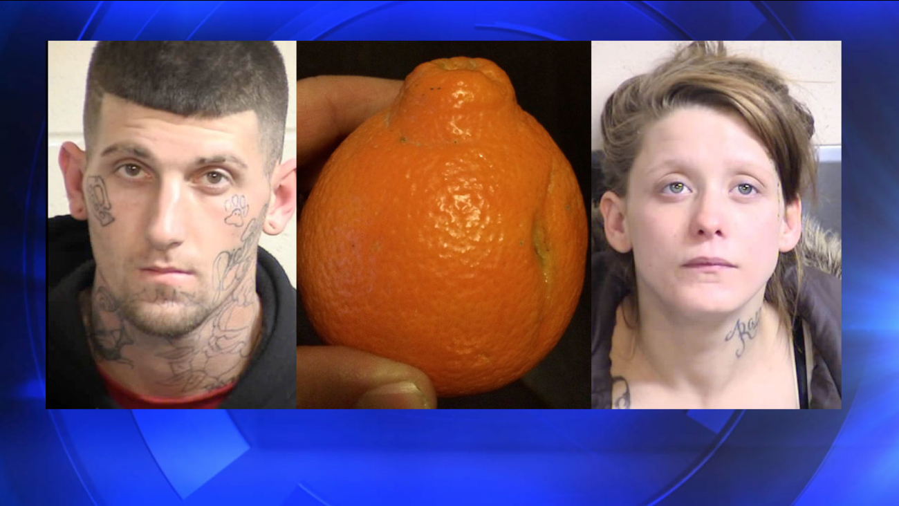 22-year-old Patrick Kasper, 20-year-old girlfriend Dianna Henson. Tangelos, a unique citrus fruit