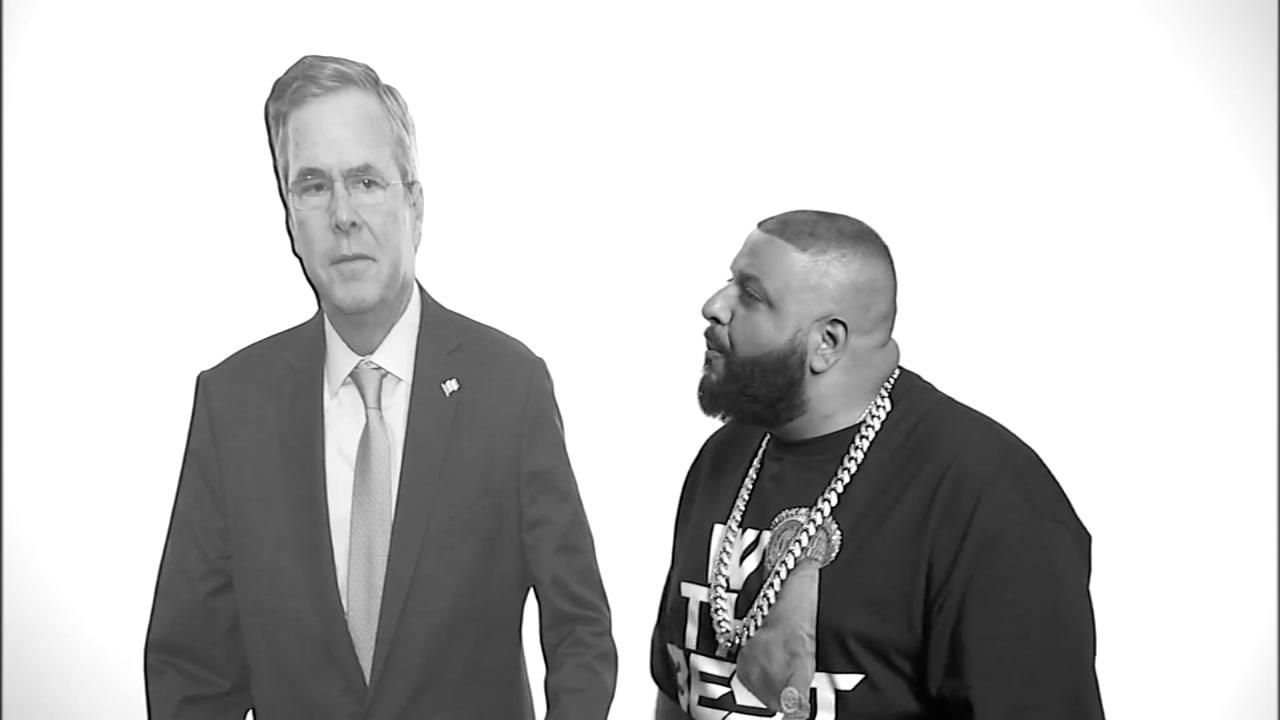 DJ Khaled Jeb Bush Pep Talk