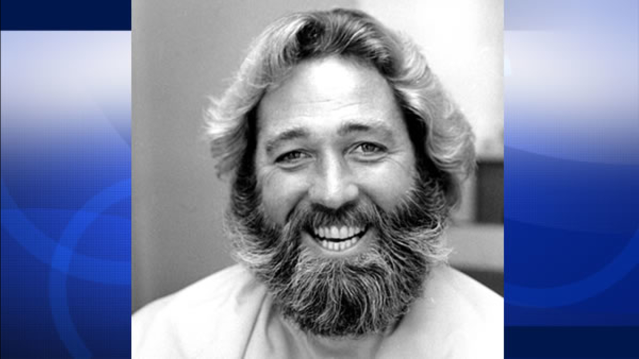 Actor Dan Haggerty smiles before his beard is shaved in Hollywood, Ca., Wednesday, Sept. 20, 1979.