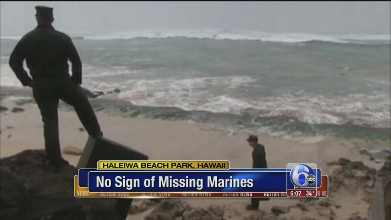 VIDEO: Missing Marines