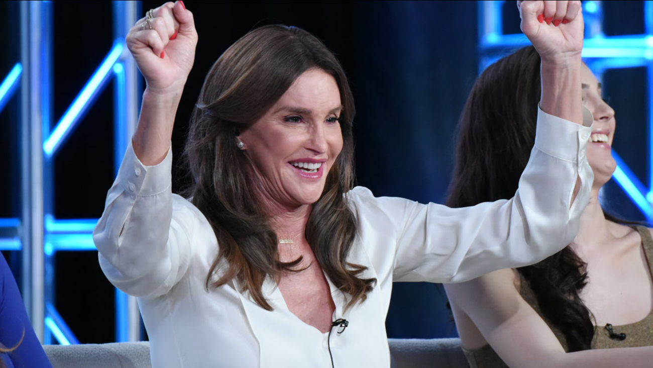 "FILE: Caitlyn Jenner participates in E!'s ""I Am Cait"" panel at the NBCUniversal Winter TCA on Thursday, Jan. 14, 2016, Pasadena, Calif."