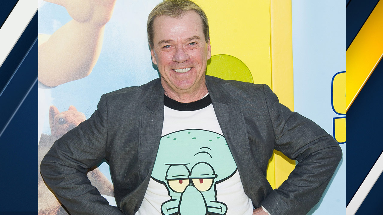 Rodger Bumpass attends the world premiere of 'The Spongebob Movie: Sponge Out Of Water' at AMC Lincoln Square on Saturday, Jan. 31, 2015, in New York.