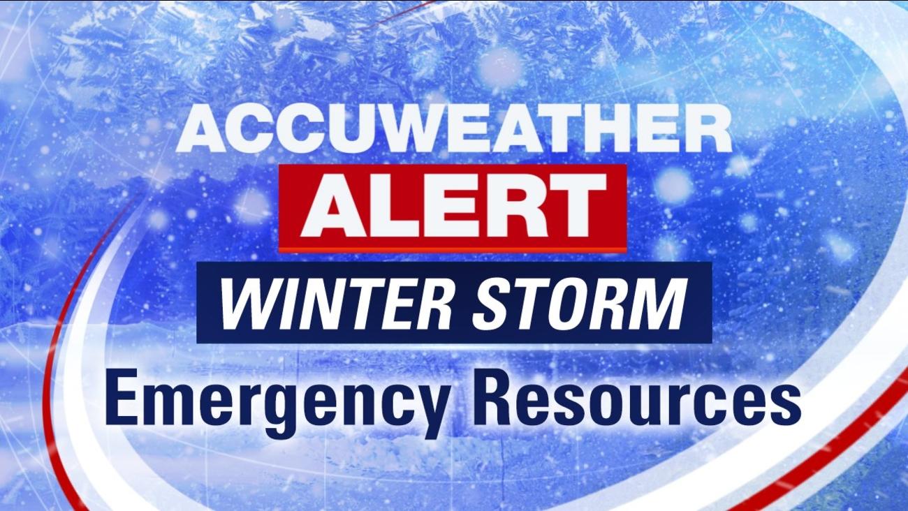 winter storm emergency resources