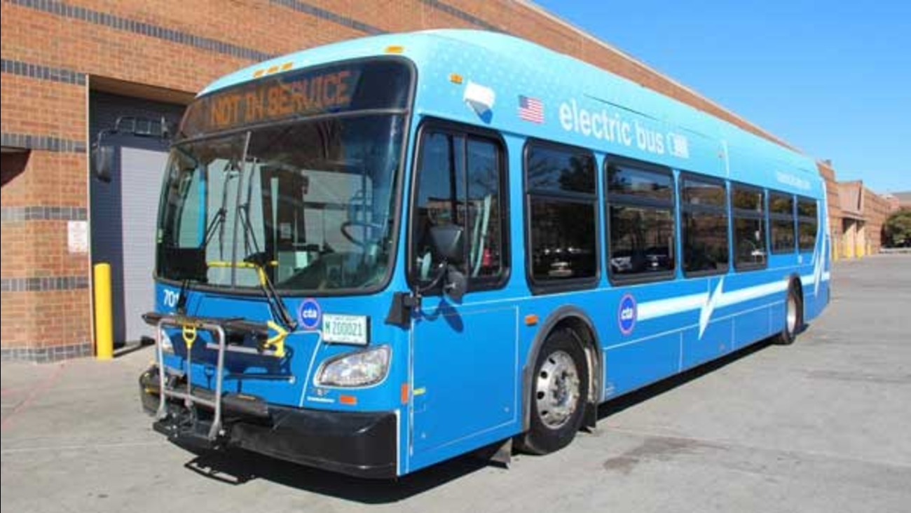 The CTA's bus fleet is about to get more high-tech. The agency will buy 20-30 fully electric buses.
